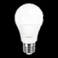 Светодиодная LED лампа MAXUS, 10W, 3000K, 220V, A60, Е27 p