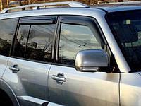 Дефлекторы окон Climair для Mitsubishi Pajero V80 2007