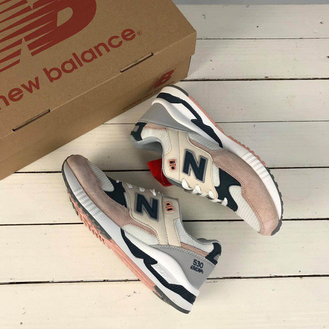 New Balance 530 White Salmon   Женские Кроссовки 37 — в