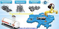 Газовый теплогенератор, автономно-резервное газоснабжение пропан-бутан, газовая горелка