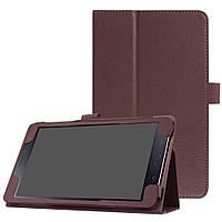 Чехол Samsung TAB A 8.0'' 2017 T380 / T385 книжка коричневый