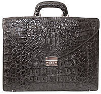 Портфель из кожи крокодила DCM 48 Black