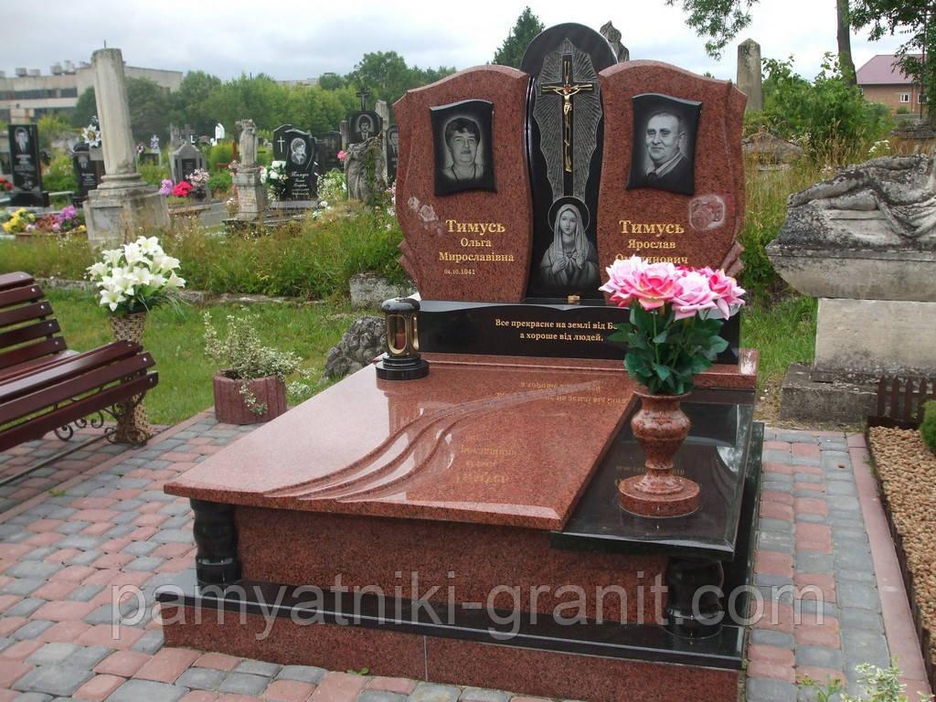Гранитные памятники двойные оптом памятники на могилу фото и цены балашиха