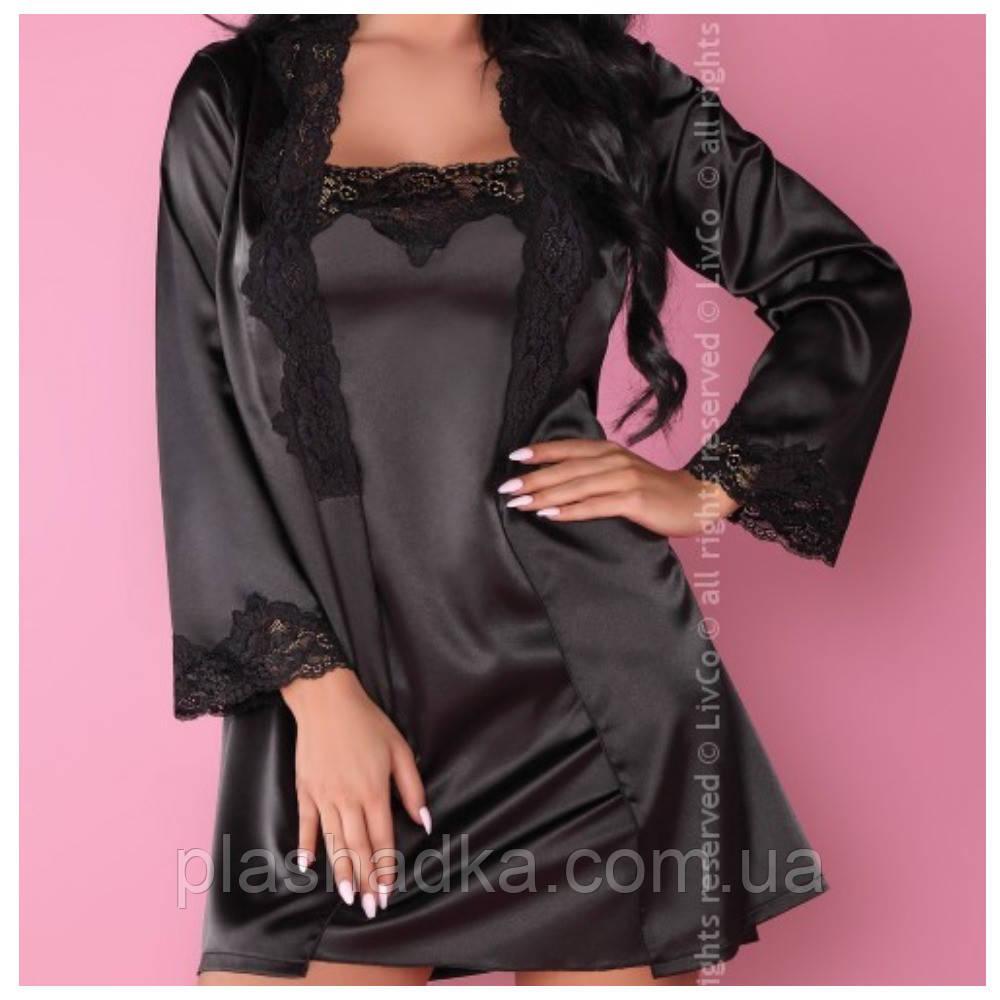Комплект нижнего белья Jacqueline Livia Corsetti(цвет черный)