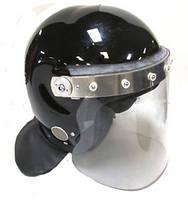 Противоударный защитный шлем с забралом MLA Guardian mk2/mk3 (черный). Police Великобритании, оригинал.