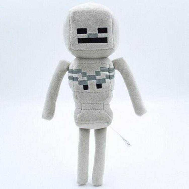 Игрушка майнкрафт скелет 25 см