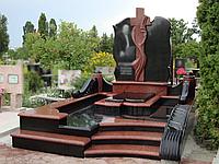 Гранитный памятник для двоих (Образец 867)