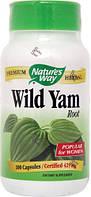 Дикий ямс Дискорея мохнатая Nature's Way  Wild Yam 425 мг 100  капс