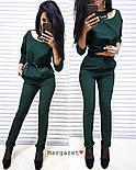 Женский стильный брючный костюм: блуза и брюки (4 цвета), фото 5