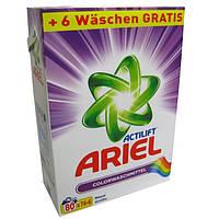 Ariel Стиральный порошок для цветного белья 5,2 кг 80 стирок (Германия)