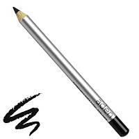 """Aden Satin Black Стойкий Матовый карандаш для глаз Каял """"Чёрный"""""""