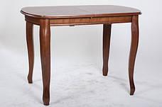 Раскладной стол для кухни Турин Микс мебель, цвет орех /темный орех, фото 2