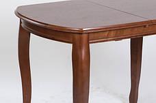 Раскладной стол для кухни Турин Микс мебель, цвет орех /темный орех, фото 3