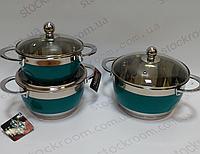 Набор посуды Krauff Emerald 26-189-039  6 предметов, фото 1