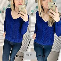 Вязаный женский свитер 3162 СВ