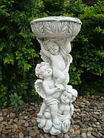 Садовая фигура Три Ангела 28.5X28.5X62cm