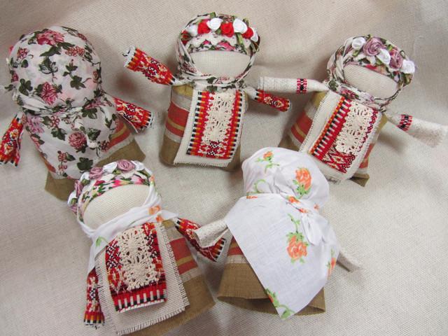 Куклы-мотанки ручной работы