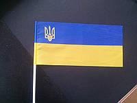 Флажок Украины на палочке, фото 1