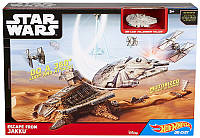 Игровой набор звездолет Hot Wheels Звездные войны Побег из Джаку Star Wars Escape from Jakku, оригин