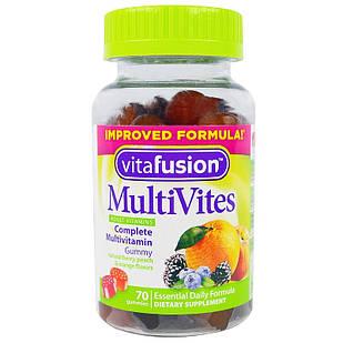 Vitafusion MultiVites™ Complete Multivitamin  ДЛЯ ПОДРОСТКОВ и взрослых  70 шт