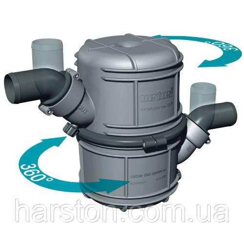 Двухкамерный водяной замок глушитель Vetus NLP 4,5 литра