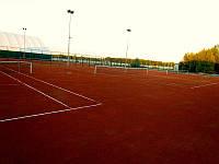 Будівництво  грунтових тенісних кортів, фото 1