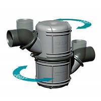 Двухкамерный водяной замок глушитель Vetus NLP 10 литров
