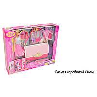 """Кукла """"Барби"""" Anlily """"сумка шкаф для одежды 99046"""