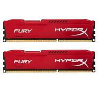 Модуль памяти для компьютера DDR3 16GB (2x8GB) 1866 MHz HyperX Fury Red Kingston (HX318C10FRK2/16)