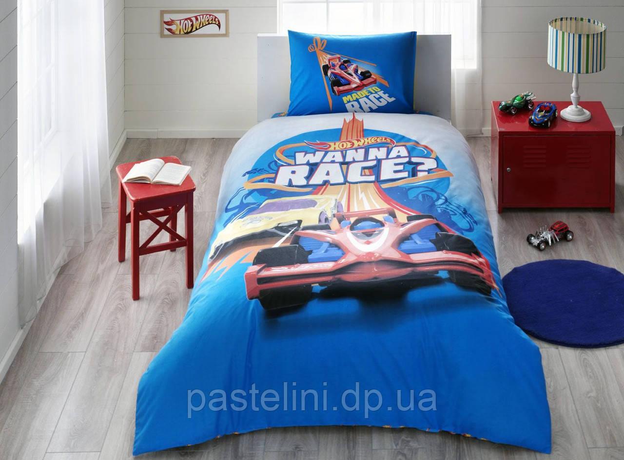 ТАС Детское постельное бельё Hot Wheels Rase ( Хот Велс Рейс)