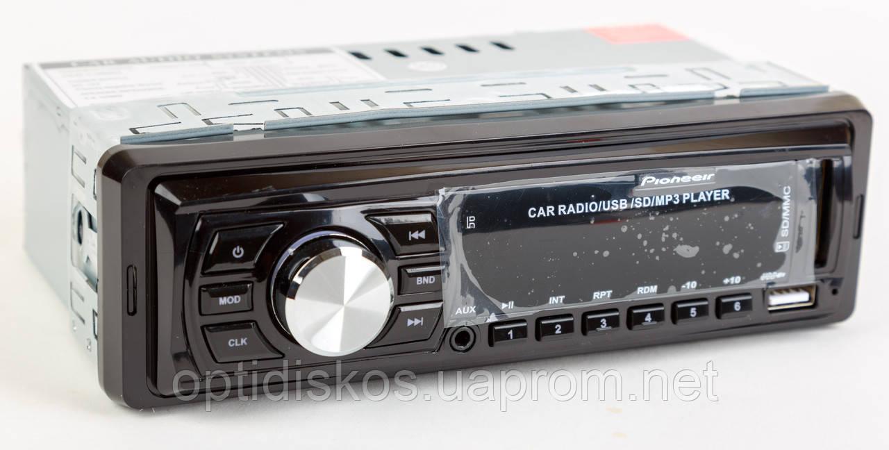 Авто магнитола MP3, 4109E (USB, SDHC, AUX, FM)
