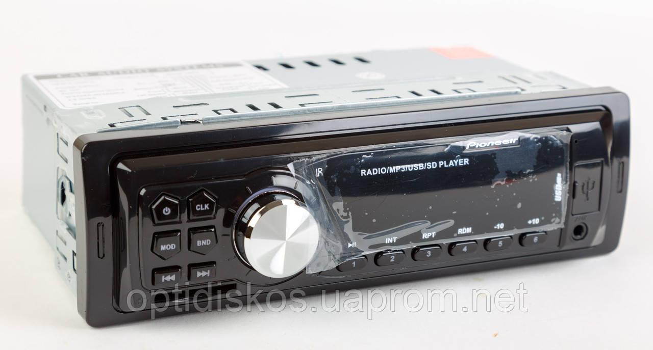 Авто магнитола MP3, 6213E (USB, SDHC, AUX, FM)