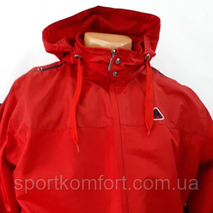 Красный спортивный костюм  SOCCER, плащевка., фото 2
