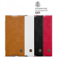 Кожаный чехол (книжка) Nillkin Qin Series для Sony Xperia XA1 / XA1 Dual