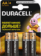 Батарейка DURACELL LR6 AA Blister 4шт. (КОПИЯ)