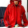 Красный спортивный костюм  SOCCER, плащевка.