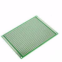 Макетная, монтажная плата PCB  Двухсторонняя 5 x 7 см
