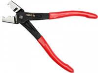 Щипці для затиску шлангових хомутів CLIC і CLIC-R YATO, 170 мм