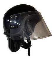 Противоударный защитный шлем с забралом Anti Riot Helmet  (черный). Police Великобритании, оригинал.