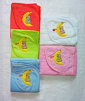 Полотенце уголок для новорожденных
