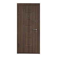 Двери входные МДФ №2 (орех белоцерковский), фото 1