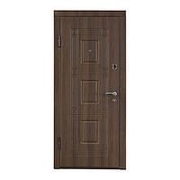 Двери входные МДФ №2 (орех белоцерковский)