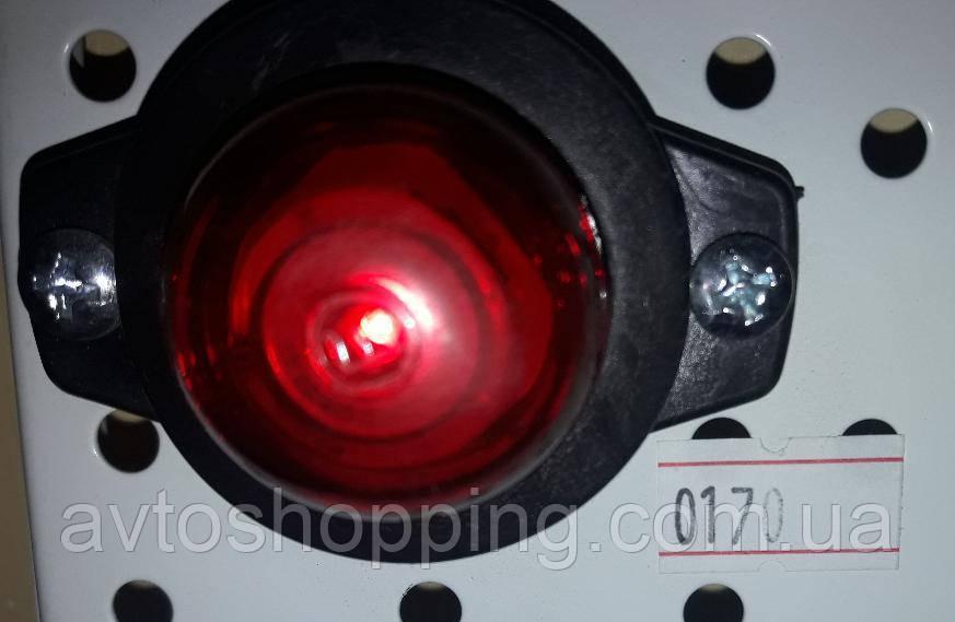 Габаритные огни для грузовиков Круглые, Фонарь габаритный прицепа, габариты рожки мини, фото 1