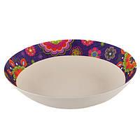 Тарелка глубокая Fissman Purpur 22х4.4 см