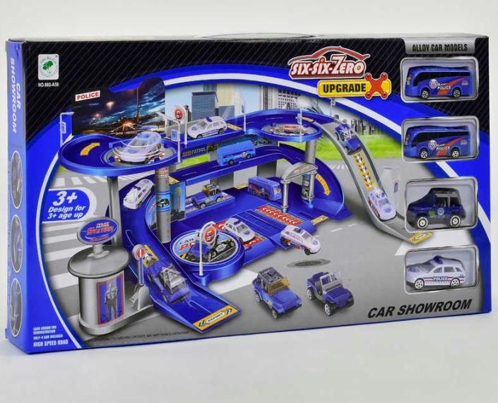 Детский гараж.Игровой набор гараж.Детский игровой набор гараж.Игрушка гараж для машинок парковка.
