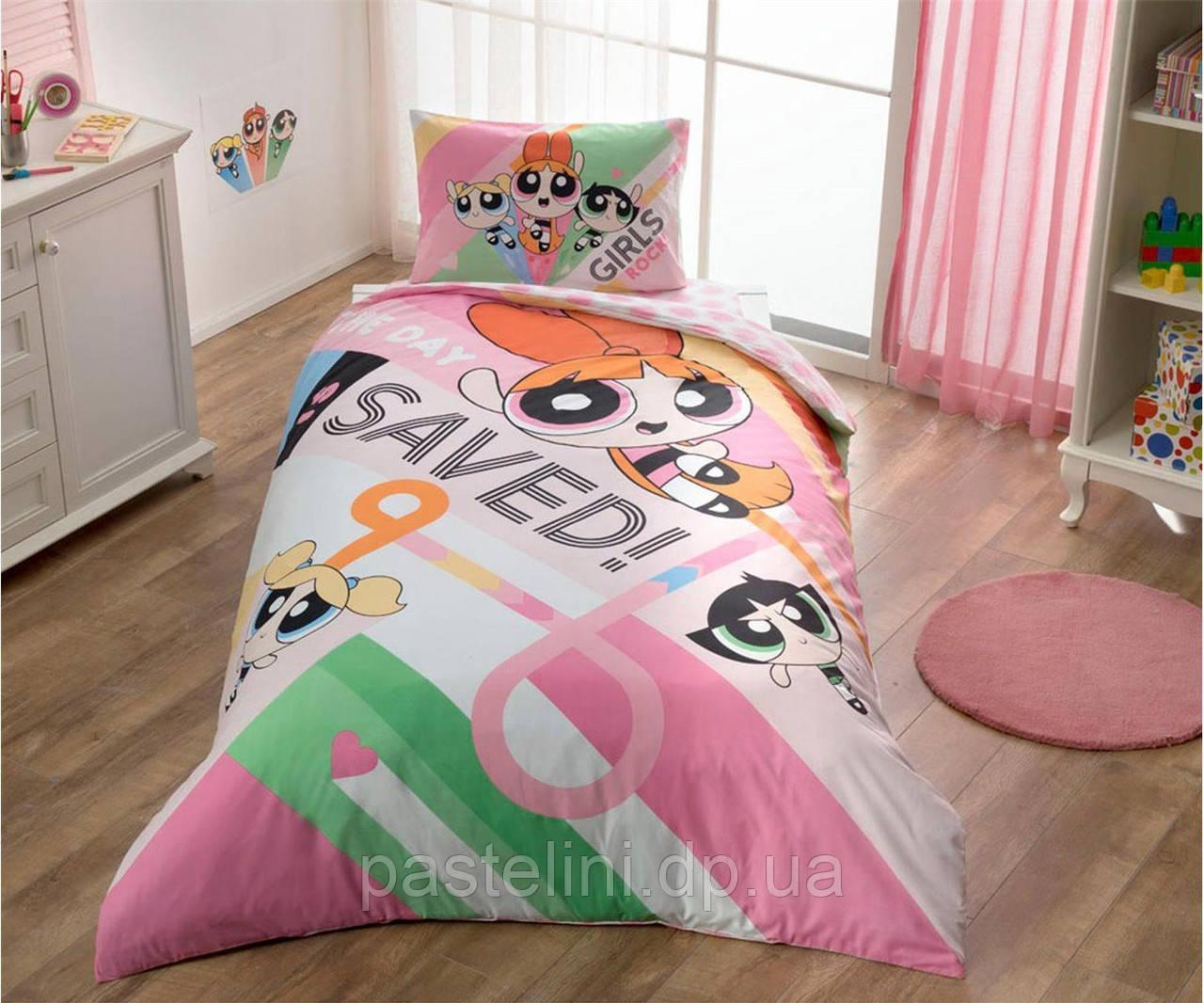 Детское постельное бельё TAC Powerpuff Girls