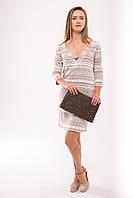Вечернее платье Bellazure Le Sable S-M Бежевый (LS4773)