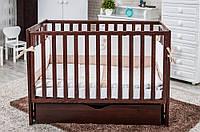 Детская кроватка Twins Pinocchio маятник с ящиком, фото 1