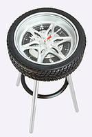 Часы-стул автомобильное колесо
