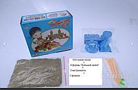 Набором в коробке Sand песок, формы большой замок, инструменты, фото 1